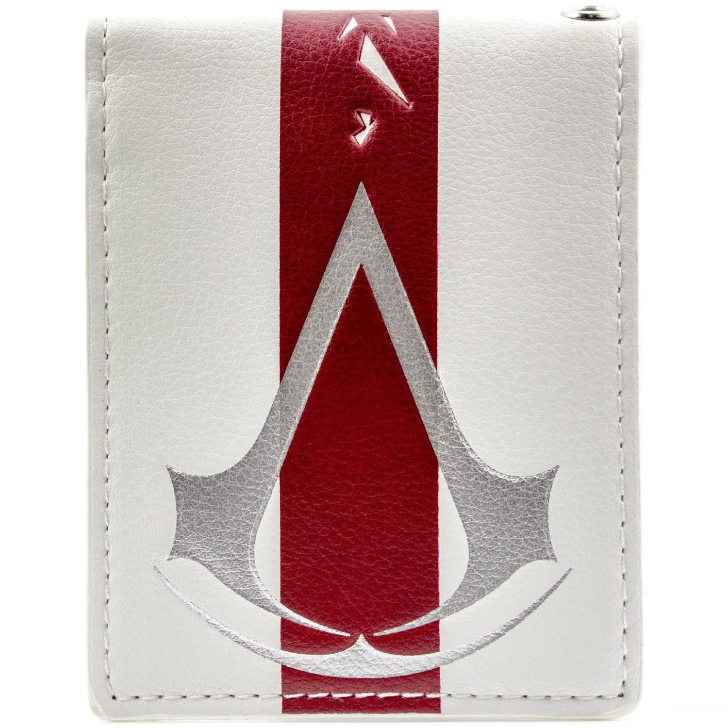 Cartera de Ubisoft Assassins Creed Raya roja Blanco 28363