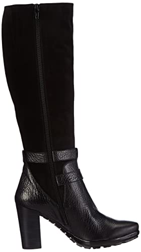 Hispanitas Arizona Damen Kurzschaft Stiefel Schwarz Reno