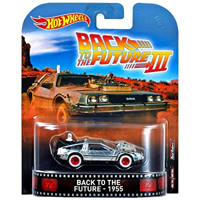 Hot Wheels Time Machine 50's Version Vehicle: Toys & Games