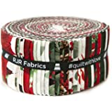 let it sparkle christmas 40 25 x 44 cotton strips jelly roll
