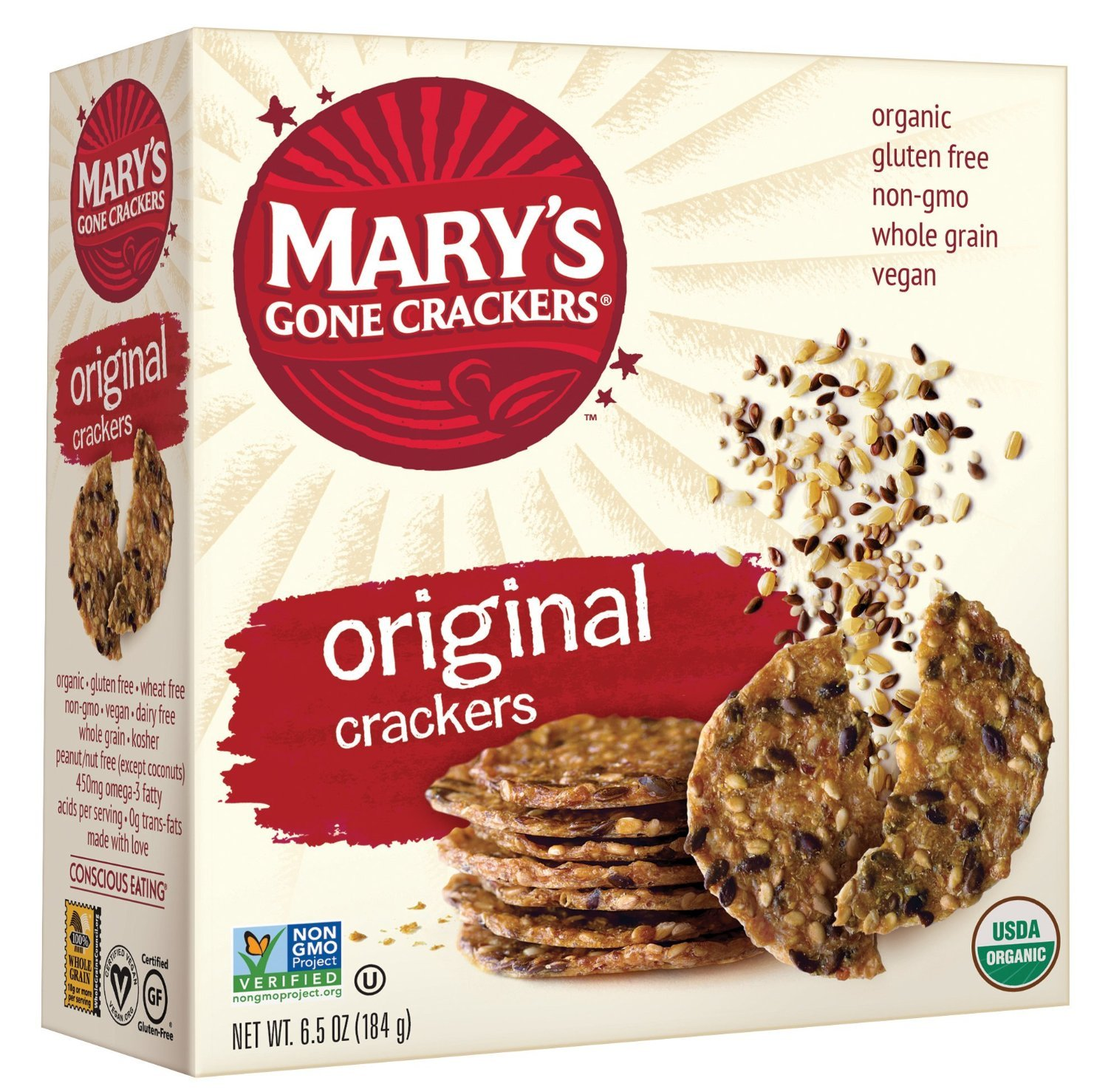 Amazon marys gone crackers original 65 ounce pack of 12 amazon marys gone crackers original 65 ounce pack of 12 packaged snack crackers grocery gourmet food solutioingenieria Choice Image
