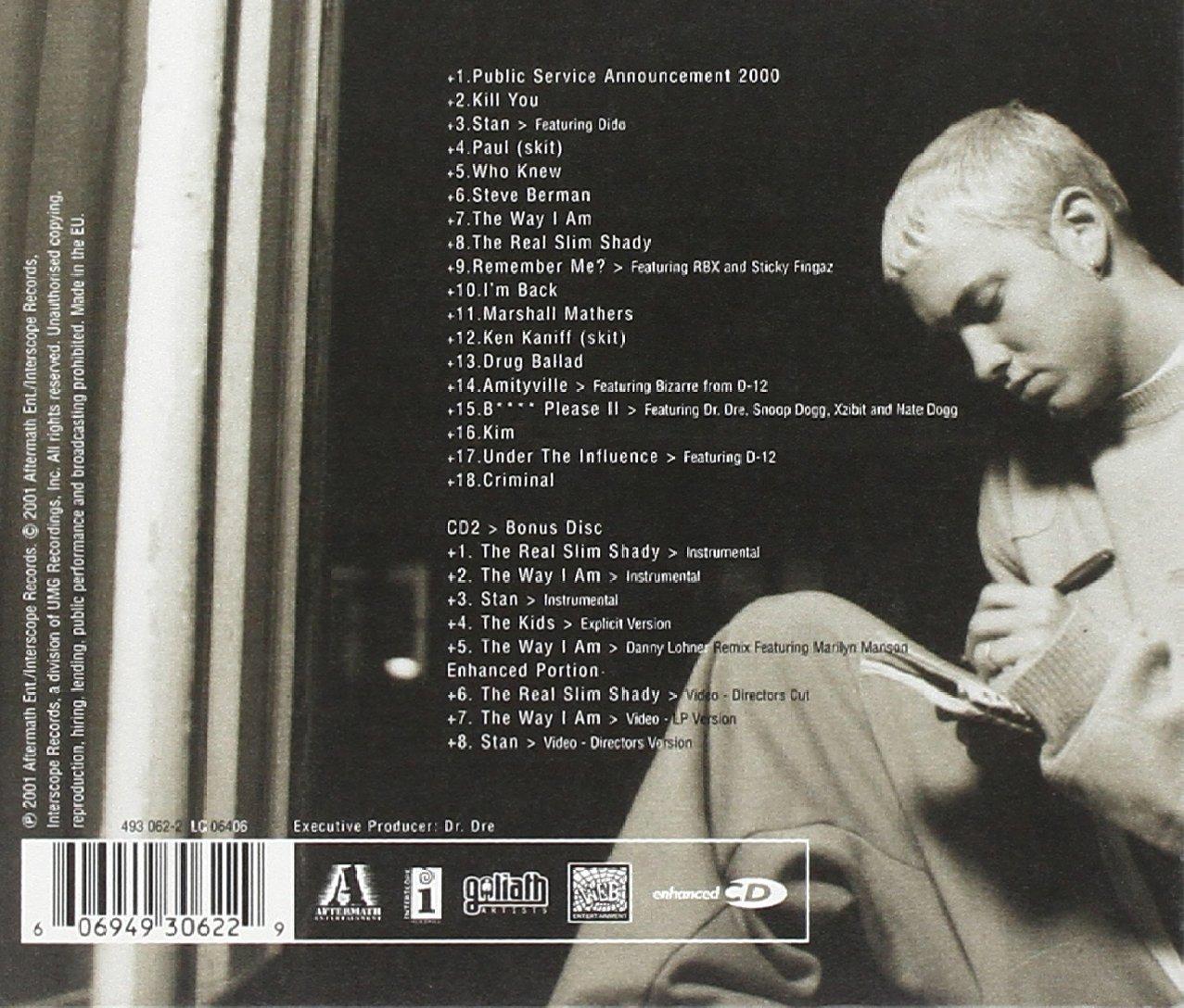 Marshall Mathers Eminem Mugshot Stock Photo, Royalty Free Image ...