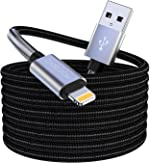 [MFi Certified] Long Lightning Cable 16ft, 5M/16 Foot iPhone Charger Cable,