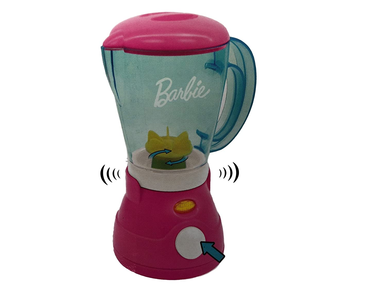Amazon.com: Barbie Mixer and Blender Kitchen Appliance Play Set Toys ...