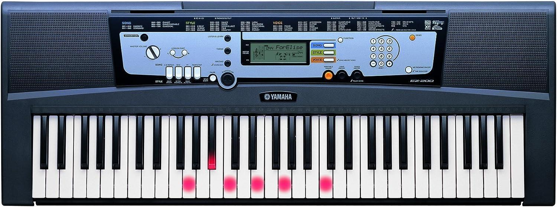 Yamaha PSR-EZ220 Leuchttasten-Keyboard NEU