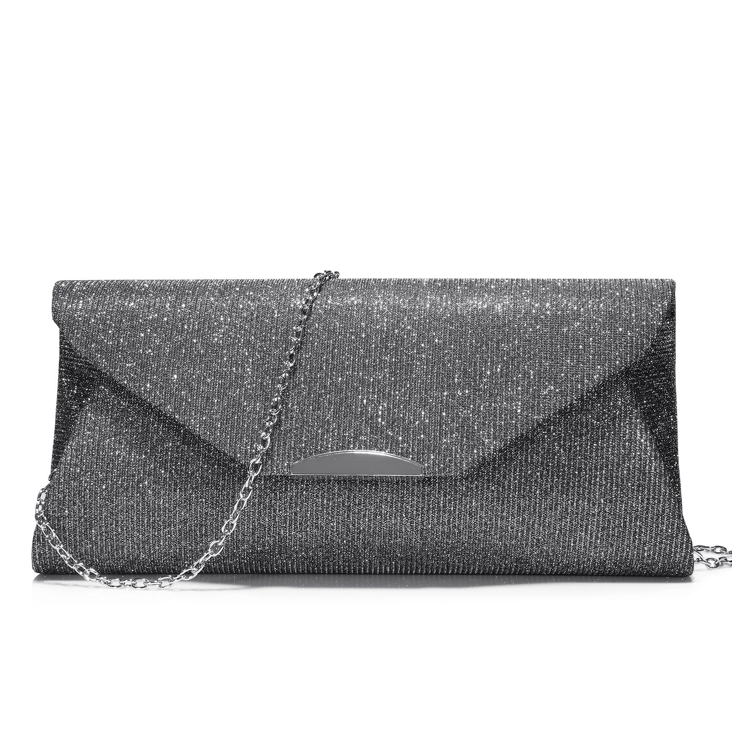 Evening Bags and Clutches for Women Designer Handbags Purse for Party Wedding Prom Gray