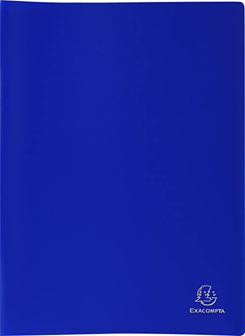 7 opinioni per Exacompta 8512E- Portalistini polipropilene morbido opaco 10 buste, A4 , 24x32