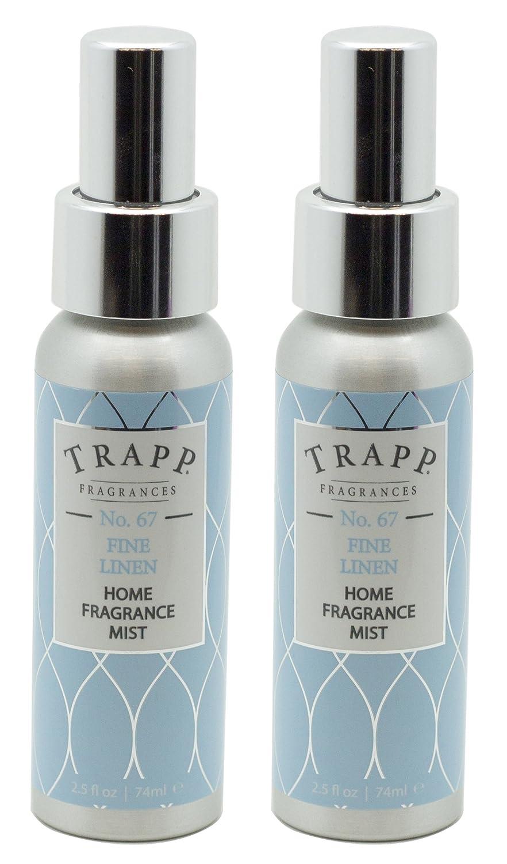 Trapp Home Fragrance Mist、NO。67 Fineリネン、2.5-ounce ( 2 - Pack ) B073DWV2B3