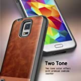 Galaxy S5 Case w/[Tempered Glass Screen