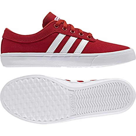 Adidas Sellwood J - Zapatillas Deportivas para Niño, Rojo - (Escarl/FTWBLA/