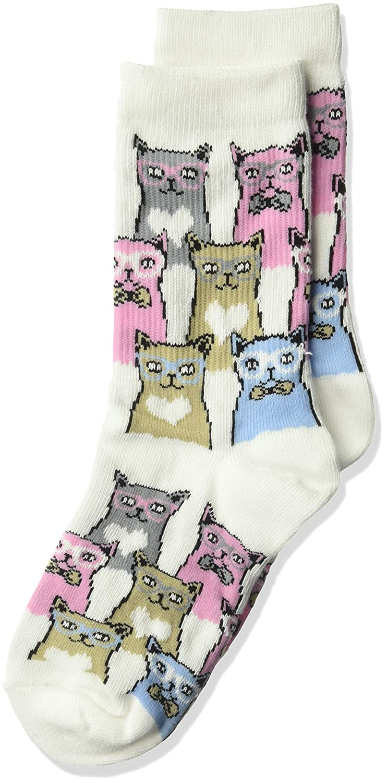K Bell Socks Girls Big Fun Novelty Crew Socks