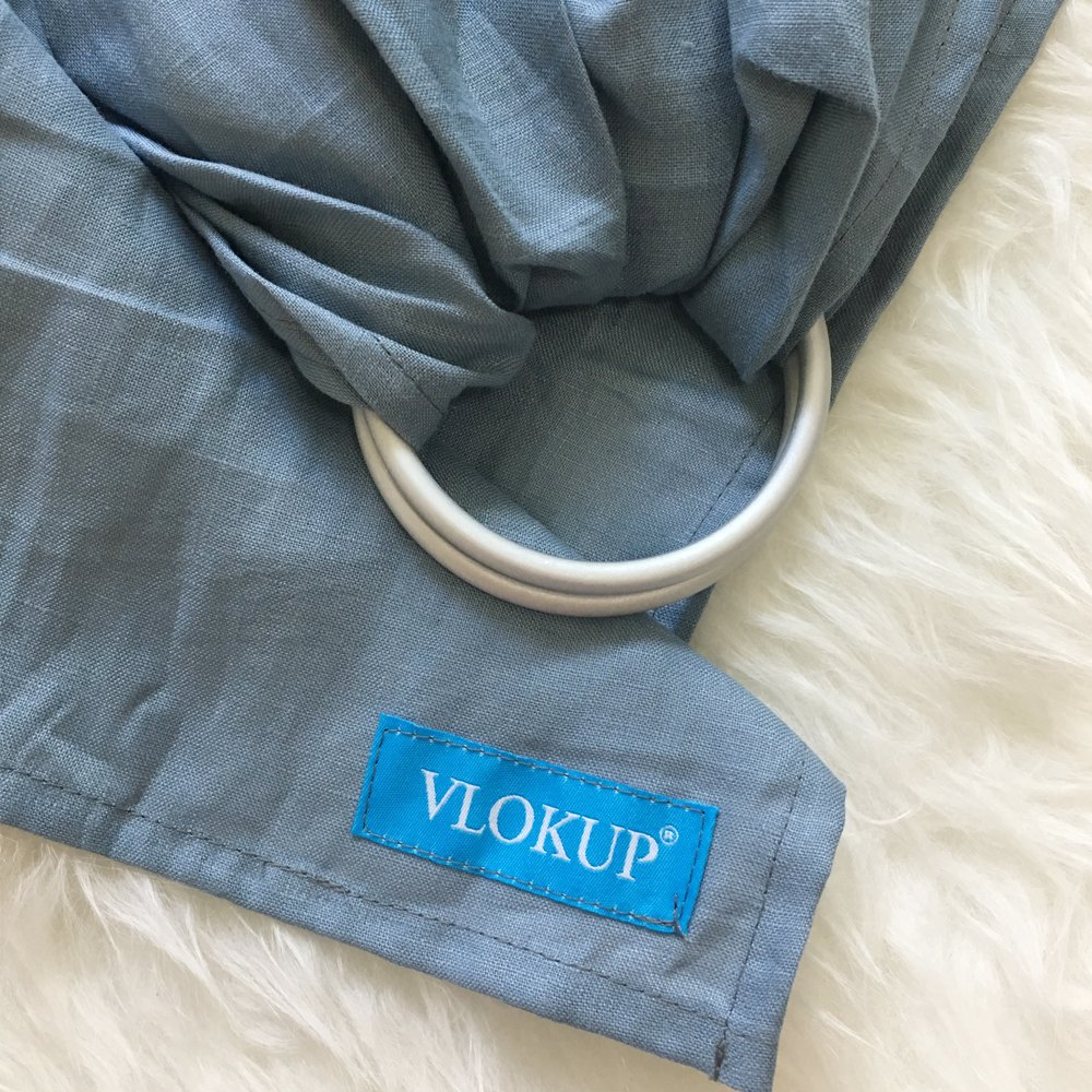 Vlokup Ring Sling Baby Carrier Wrap Luxury Lightweight Breathable