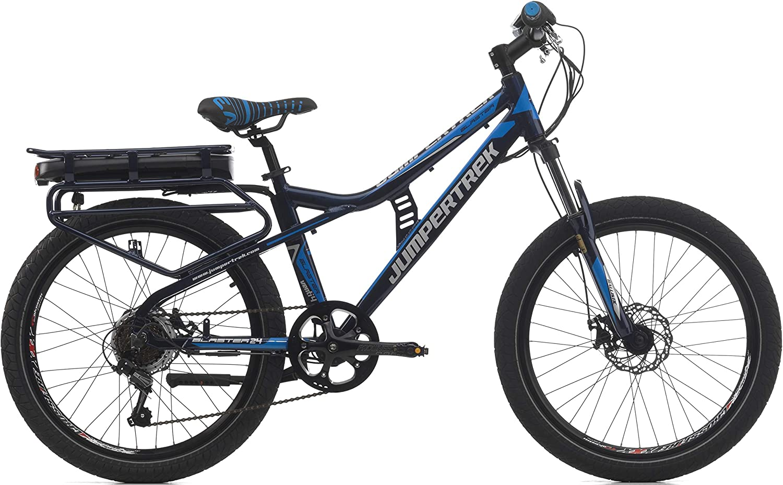 Cinzia Blaster - Bicicleta eléctrica Infantil (24 Pulgadas ...
