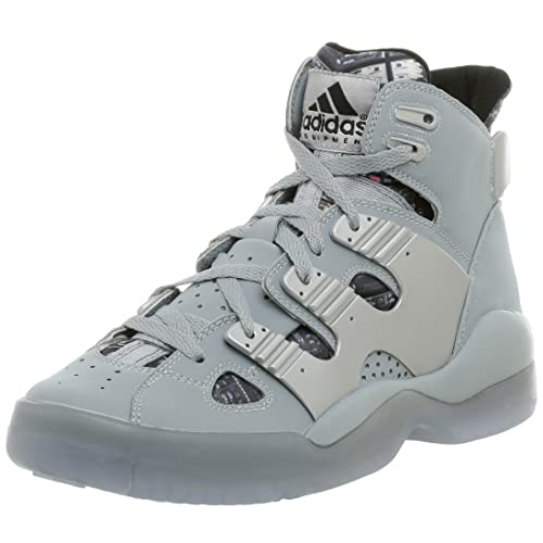 1e8f716a836d5 Amazon.com | adidas Men's Eqt B-Ball Basketball Shoe, Silver/White ...