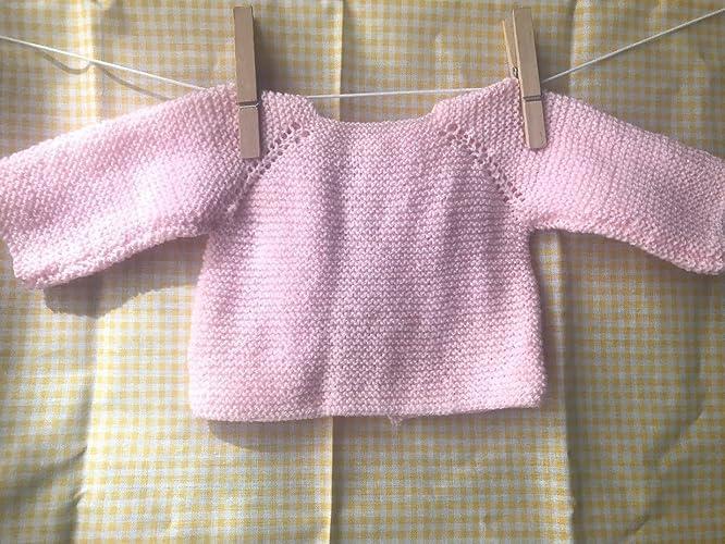 Chaqueta bebé punto: Amazon.es: Handmade