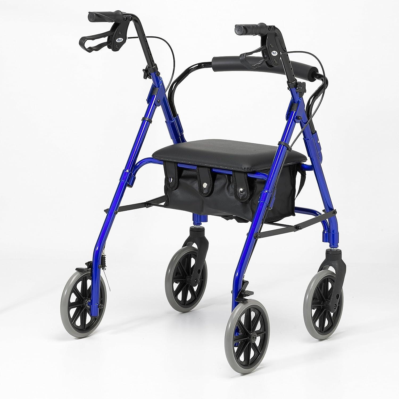 Patterson Medical - Andador ligero de aluminio con ruedas ...