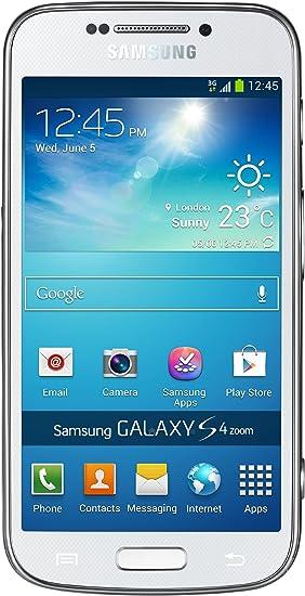 Samsung Galaxy S4 Zoom - Smartphone libre Android (Pantalla 4.3 ...