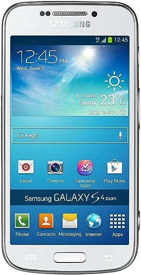 "Samsung Galaxy S4 Zoom - Smartphone libre (pantalla táctil de 4,3"","