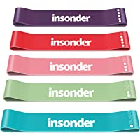 Insonder Weerstandsbanden Set - Fitnessbanden Resistance Bands Loop Bands - Mini Bands - Inclusief Ebook