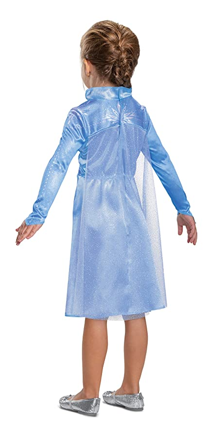 Disguise Disney Elsa Frozen 2 Classic Girls Halloween Costume