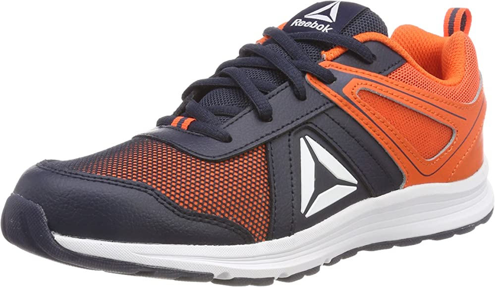 Reebok Almotio 3.0, Zapatillas de Trail Running para Niños, Azul (Collegiate Navy/Bright Lava 000), 27 EU: Amazon.es: Zapatos y complementos