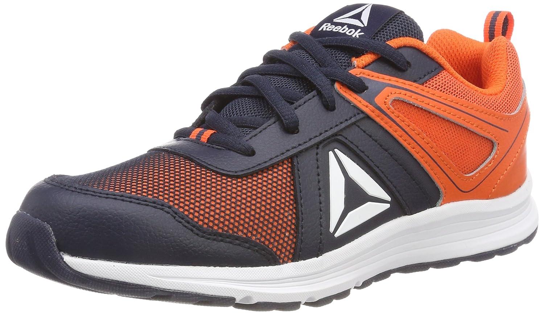 Reebok Almotio 3.0, Zapatillas de Trail Running para Niños, Azul (Collegiate Navy/Bright Lava 000), 27 EU: Amazon.es: Zapatos y complementos