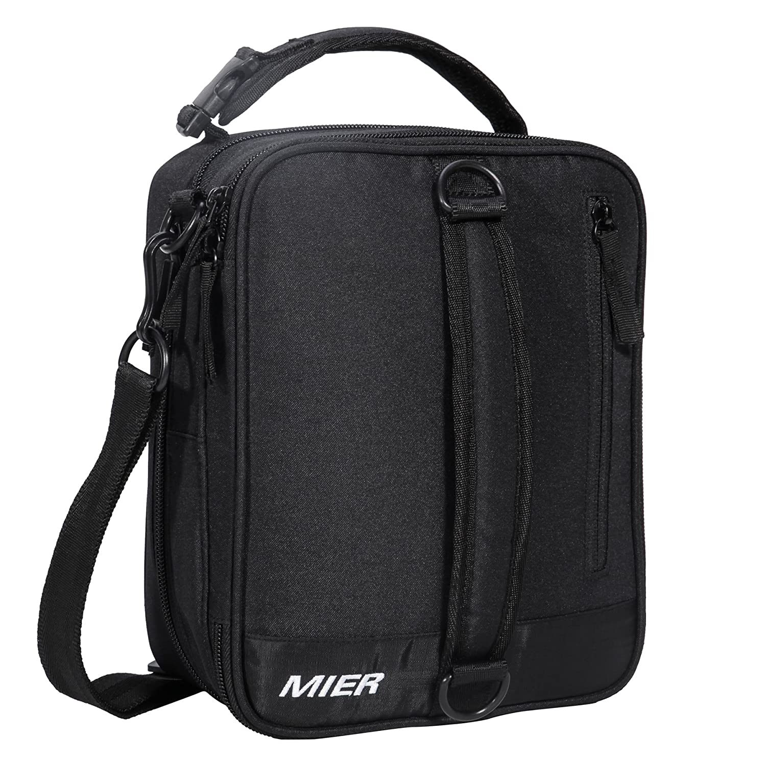 Amazon.com  MIER Insulated Lunch Box Bag Expandable Lunch Pack for ... f65b70c6c152