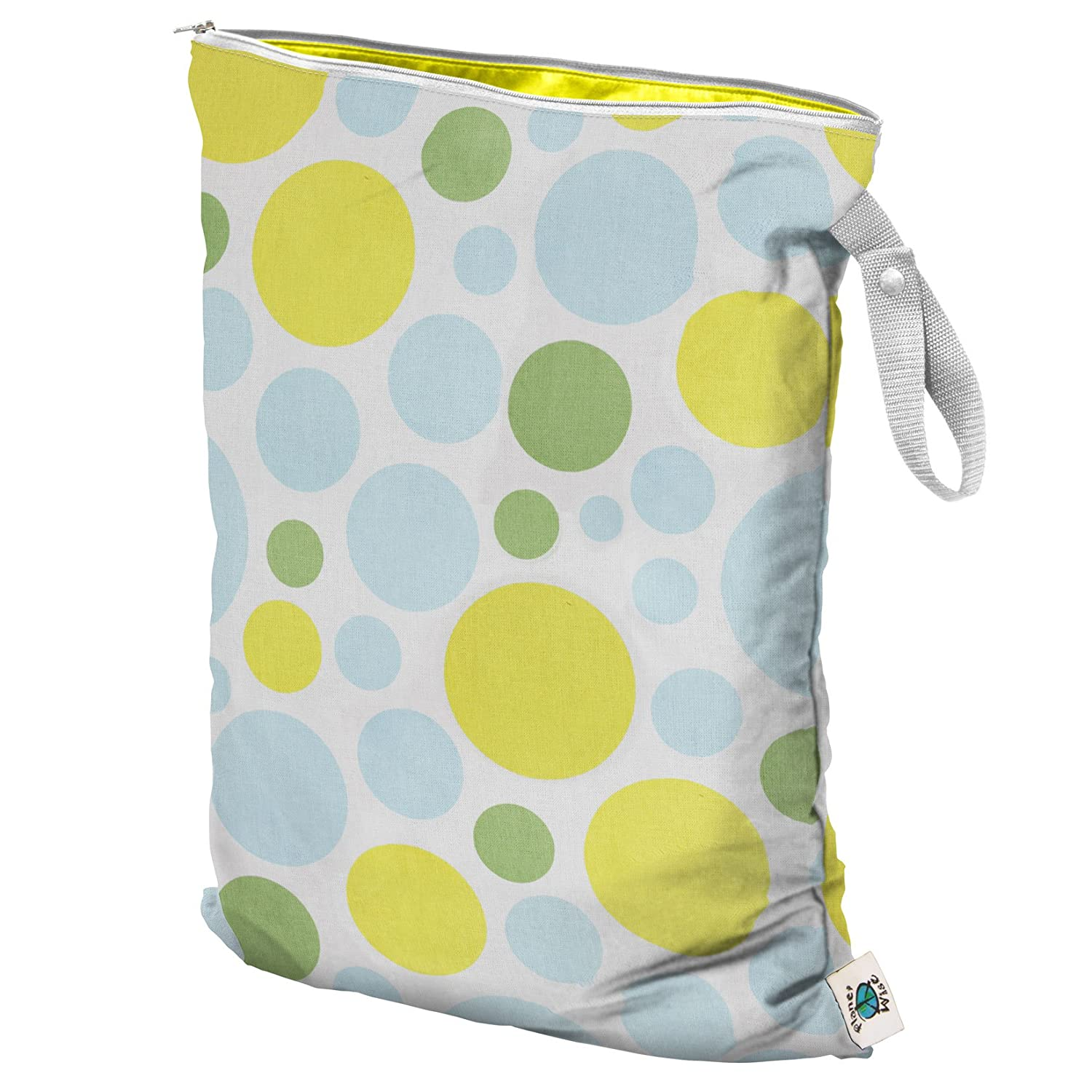 Made in The USA Small Menagerie Twill Planet Wise Wet Bag