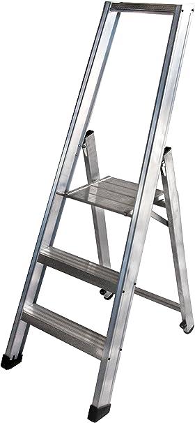 Arcama ETX03 Escalera tijera industrial: Amazon.es: Bricolaje y herramientas