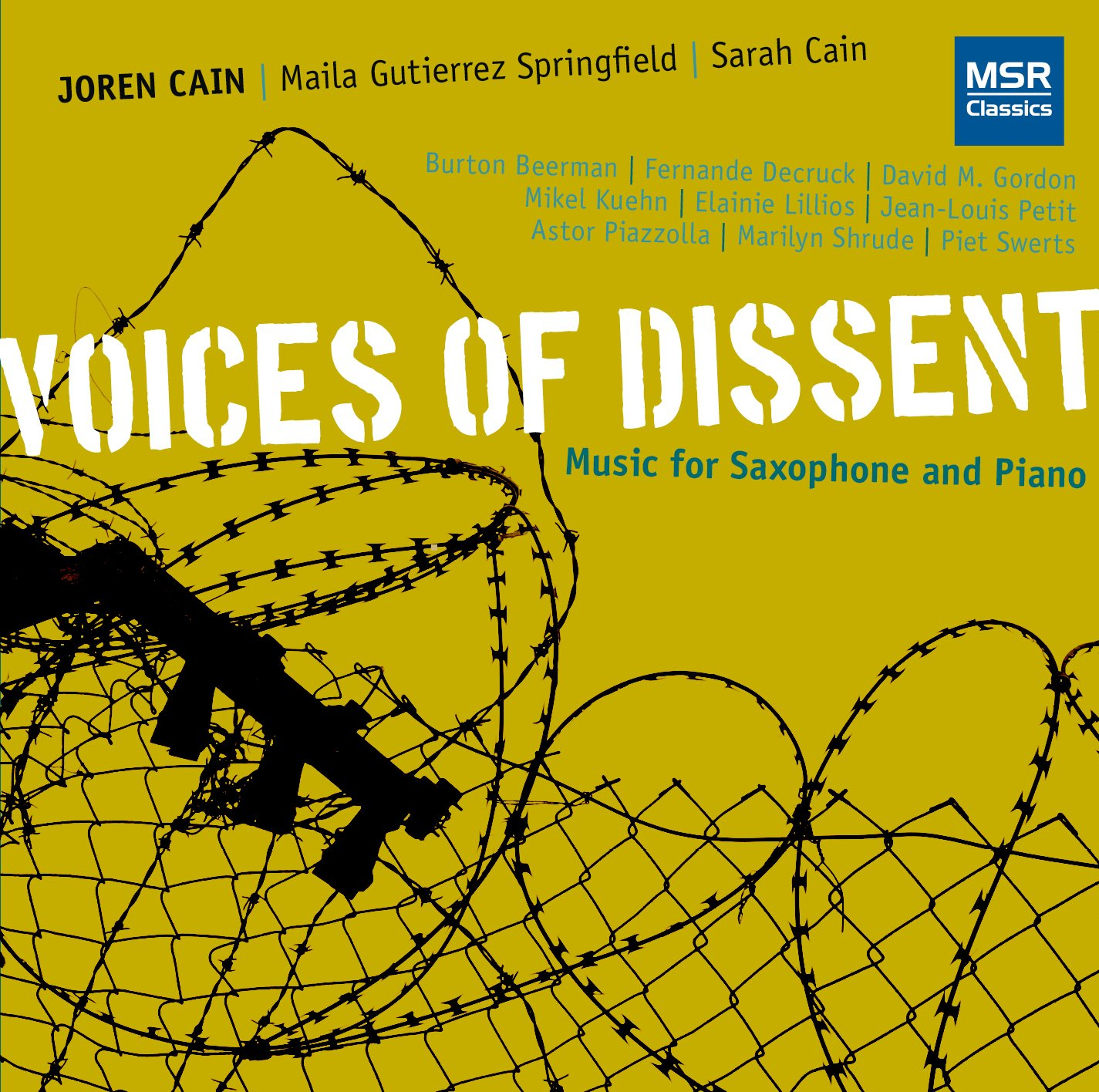CD : Joren Cain - Voices Of Dissent (CD)