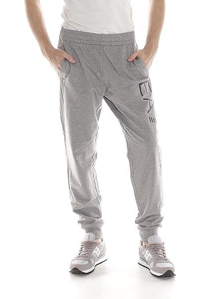 d45fc961fb1079 EA7 Pantaloni Emporio Armani 7 EA Felpa Tuta Uomo 8NPPB1 Elastico sotto  Polsino - Colore Grigio - Taglia XS: Amazon.it: Abbigliamento