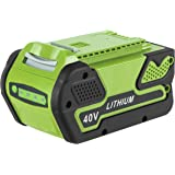 Cell9102 Replacement 40V 5000mAh Lithium-Ion Battery 29472 for GreenWorks 40V Battery G-MAX Power Tools 29252 20202…