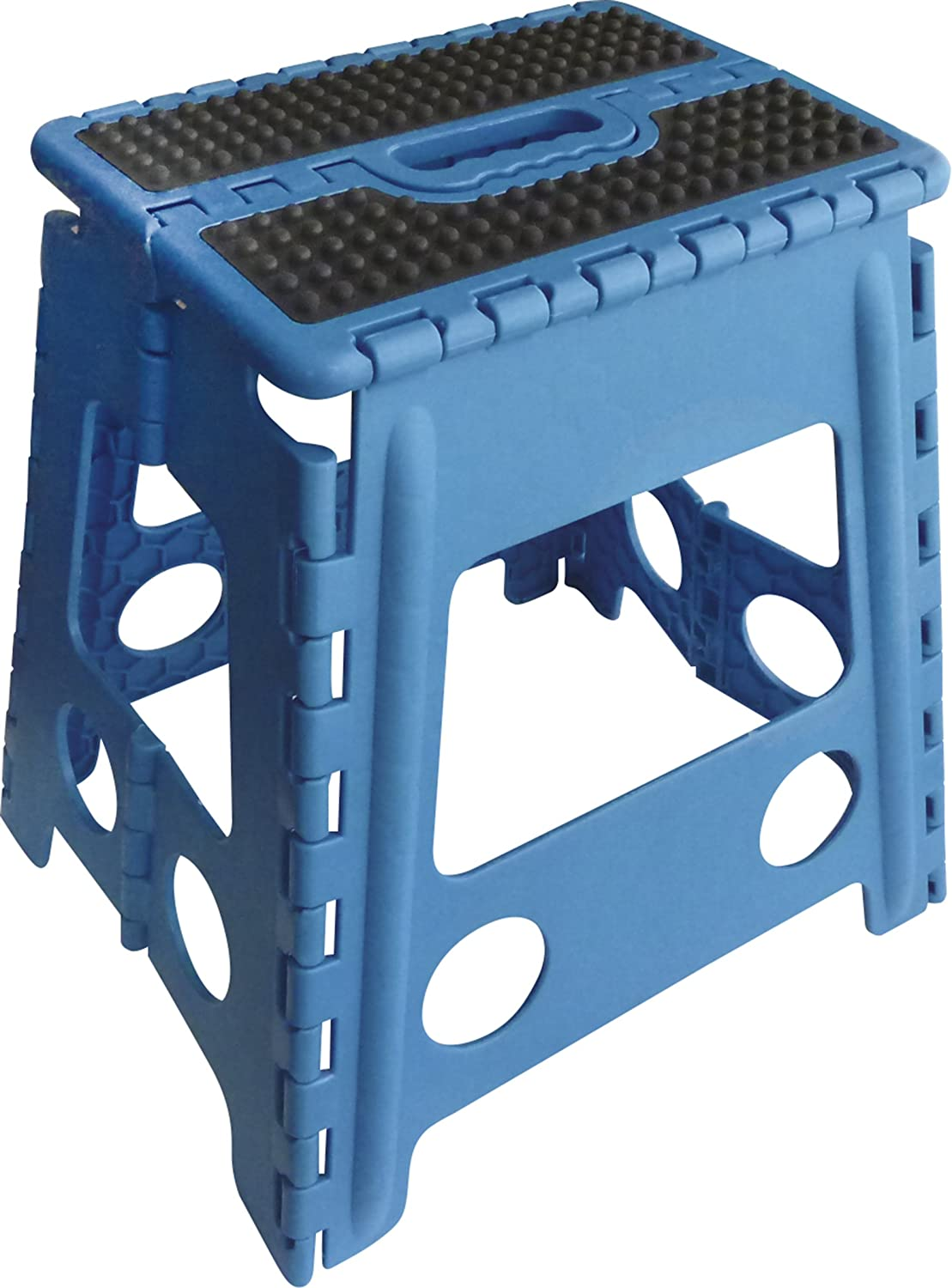 HIPPO-TONIC Grip Folding Step Stool Grey 28.5 x 21.5 x 39 cm 930251