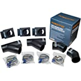 70201 4-Inch Three-Machine Dust Collection Kit