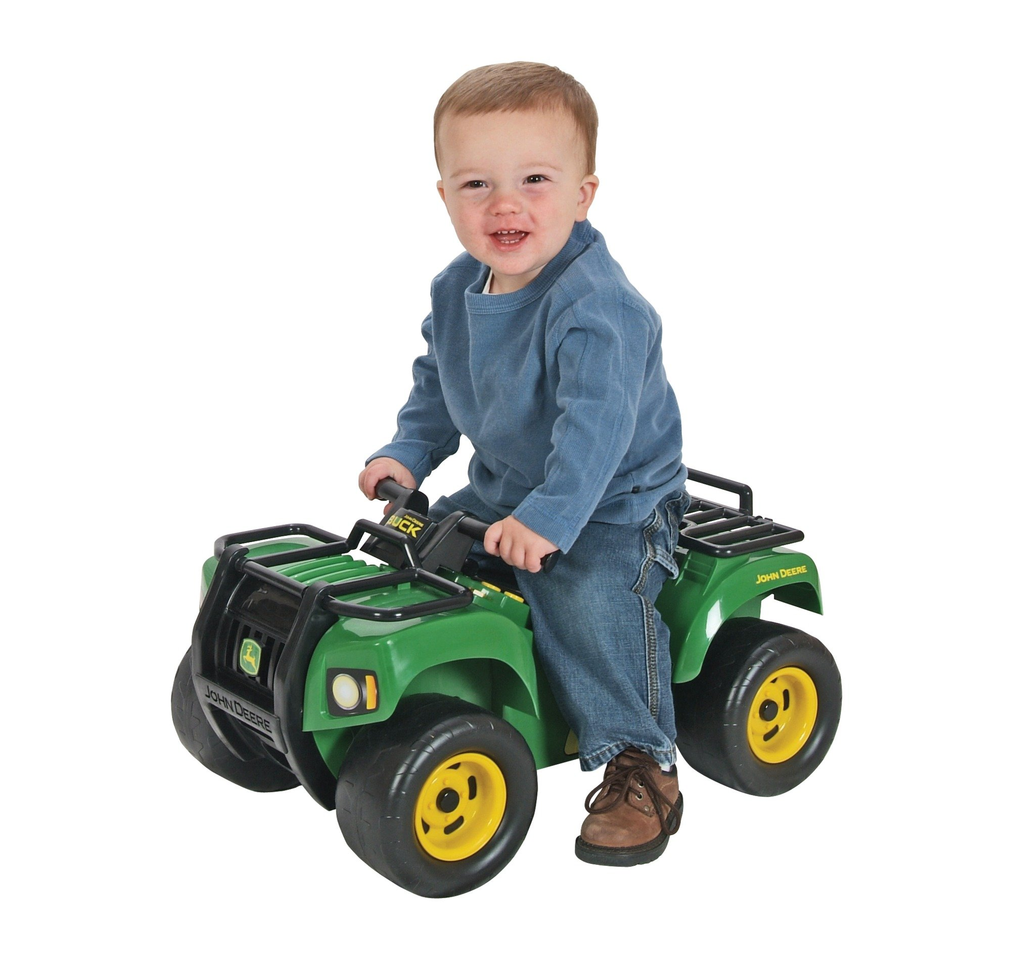TOMY John Deere Sit-N-Scoot Buck With Lights And Sounds