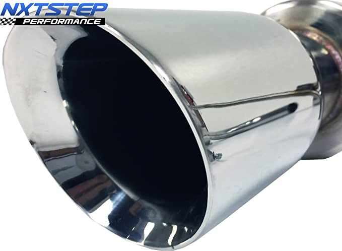 NXTSTEP PERFORMANCE Axle Back Exhaust System compatible with 2015-2019 Ford Mustang V6