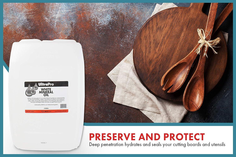 Amazon.com: 5 Gales - Aceite mineral de grado alimentario ...