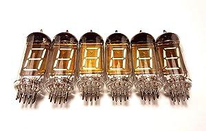 IV-12 Large Vfd 7-Segment Clock Tubes 6pcs