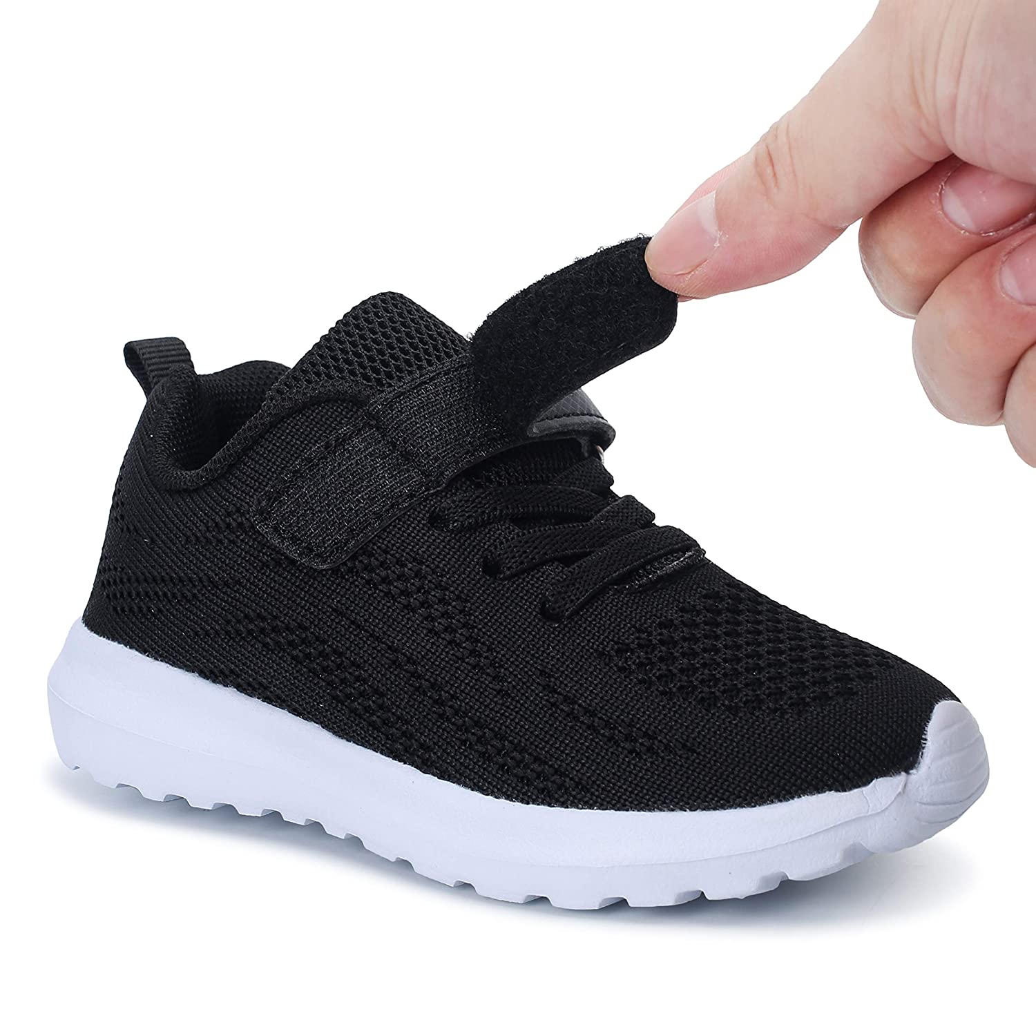 7UK Child-4UK Nishiguang Toddler Kids Sneakers Lightweight Breathable Shoes Casual Trainer for Boys//Grils