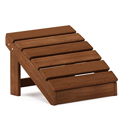 Furinno FG18926 Tioman Footstool, Natural : Garden & Outdoor