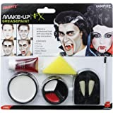 Smiffy's Vampire Make-Up Set with Fangs Sponge