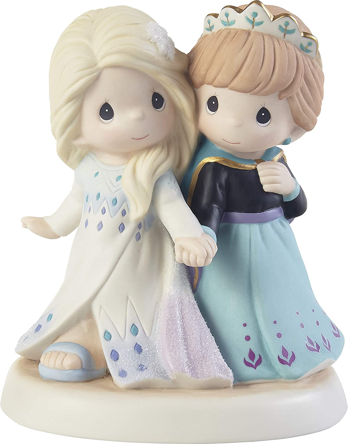 Precious Moments 203063 Disney Frozen Together We're Strong Bisque Porcelain Figurine