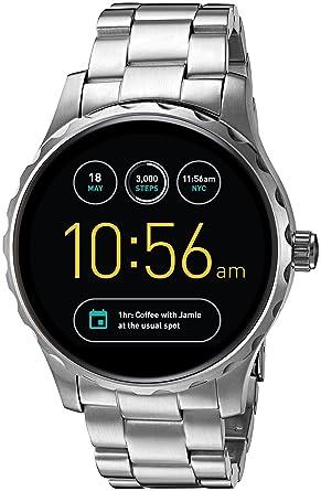 129c17fdf23b Fossil Q Marshal Gen 2 Stainless Steel Touchscreen Smartwatch FTW2109