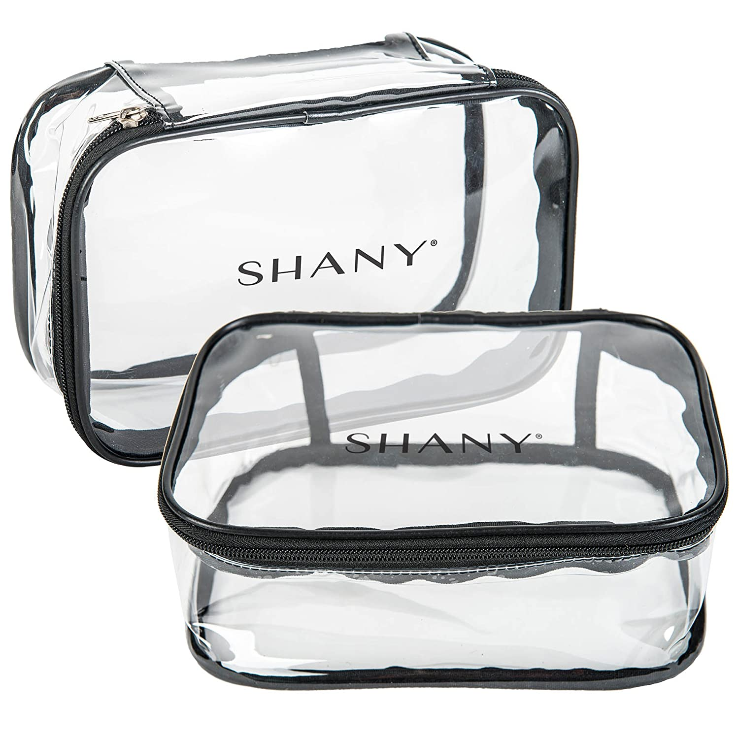 SHANY Slumber Party Cosmetics Clear Waterproof Travel Bag