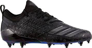 ea3c35b3065 adidas Men s Adizero 5-Star 7.0 adiMoji Pack Football Cleats (Black Black