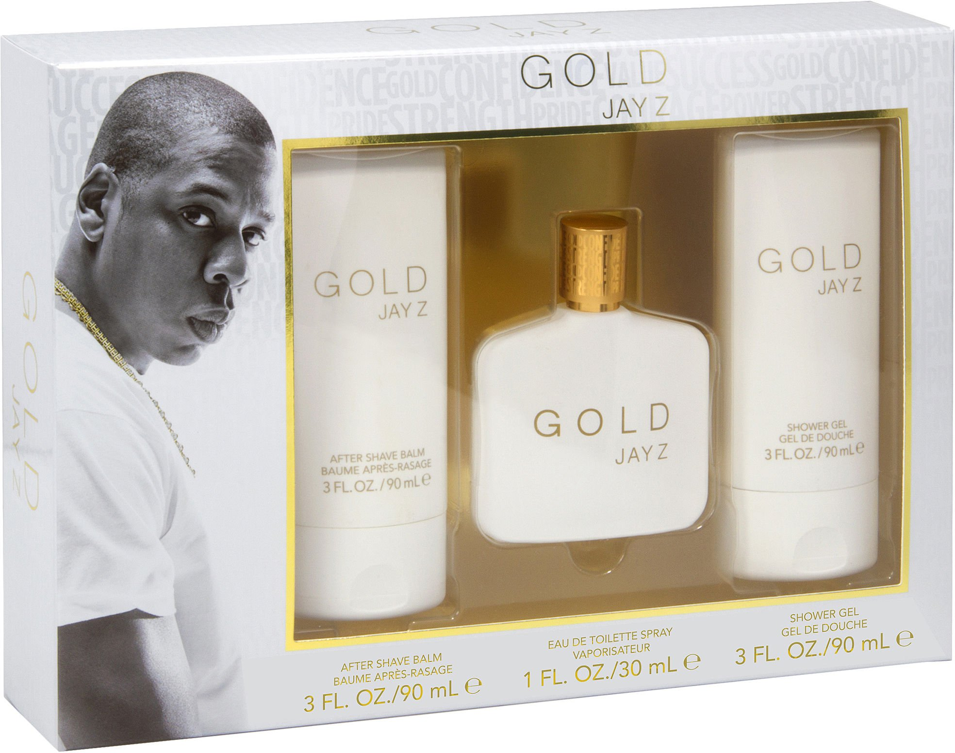 Gold Jay Z 3-Pc. Men's Fragrance Gift Set