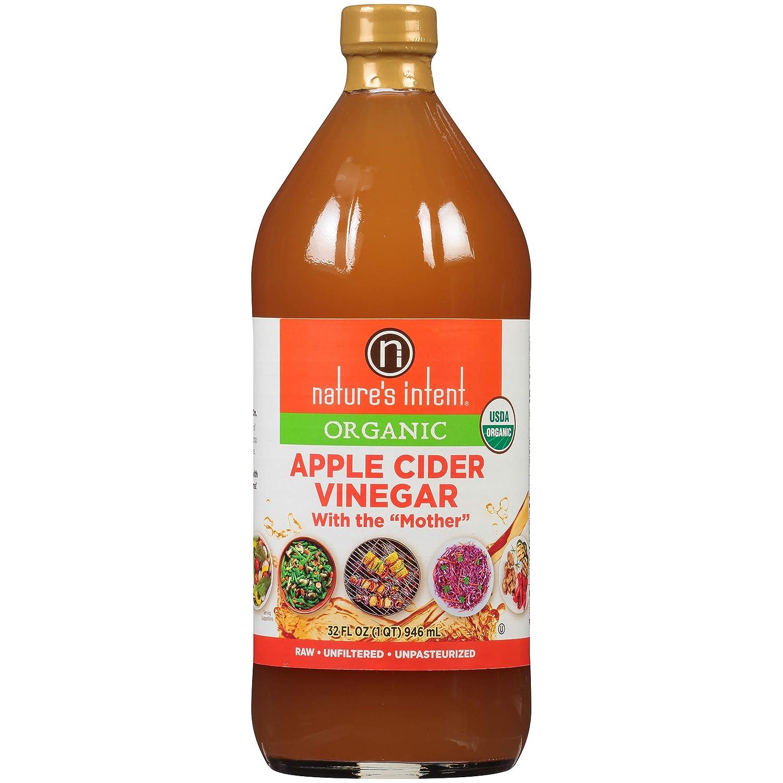 Natures Intent Vinegar Apple Cider Organic, 32 fl oz