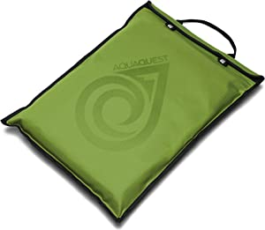 """Aqua Quest Storm Laptop Sleeve - 100% Waterproof, Lightweight, Durable, Padded Case - Protective Computer Pouch Cover Bag - 13"""" Green"""