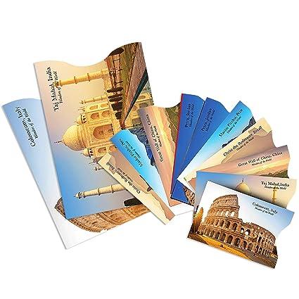 (12x) Protectores de Bloqueo para Prevenir RFID – Fundas para Tarjeta de Crédito, Débito y Tarjeta de Identificación – Protector de Pasaporte - ...