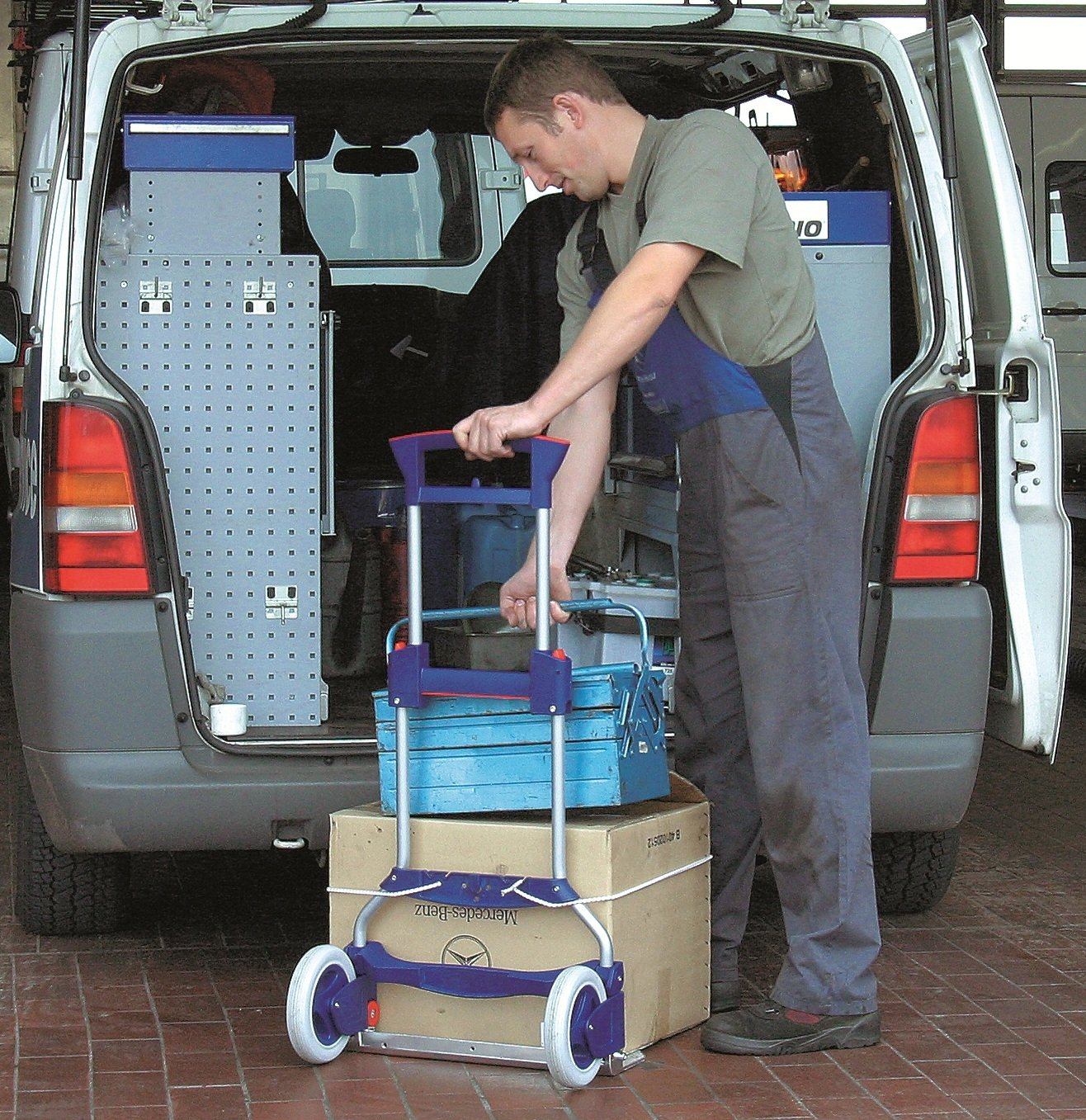 RuXXac Business XL Folding Sack Truck 125kg Capacity